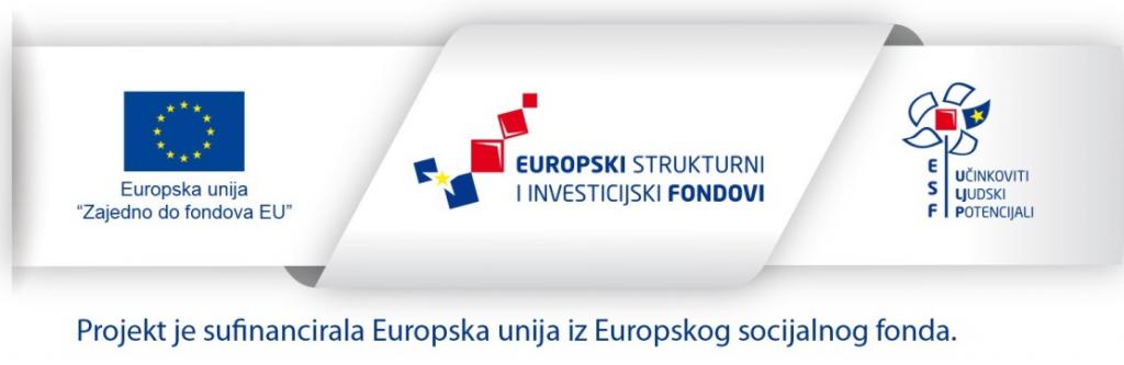 Projekt je sufinancirala Europska unija iz Europskog socijalnog fonda