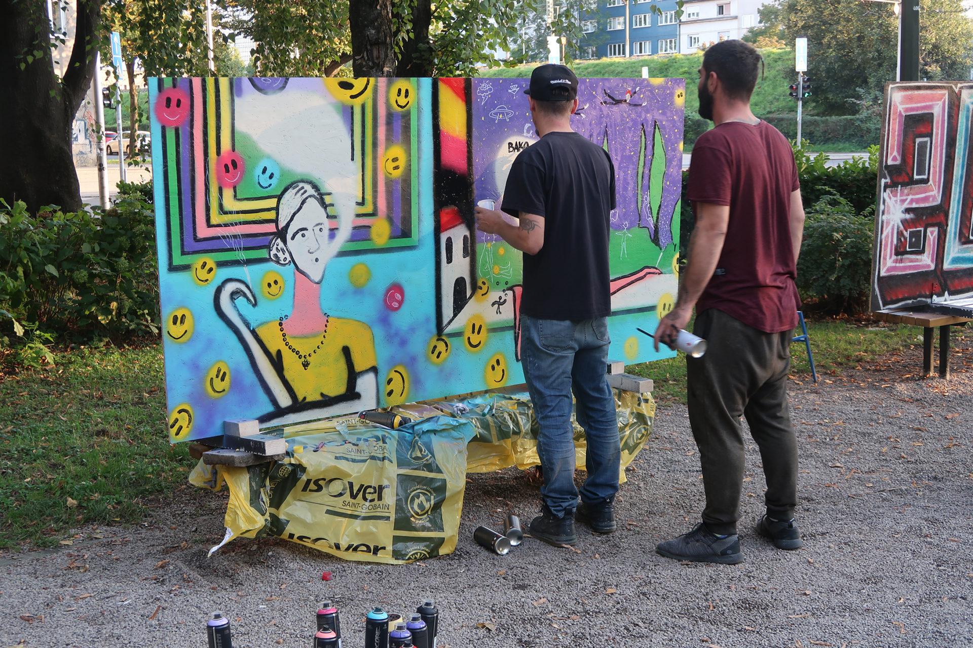 Javne galerije: Boje u parku